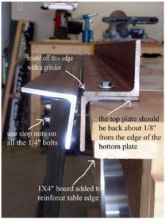 ~DIY Sheet Metal Bending Brake