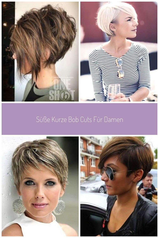 Kurze Bob Haarschnitte Neu Frisuren Haar Stile 2018 Pinterest Damen Haare Kurze Haarschnitte Damen Kurzer Bob Haarschnitt Haarschnitt Bob Haarschnitt