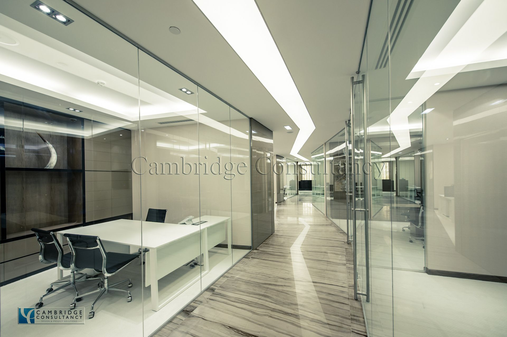 Emerald group designed by cambridge consultancy dubai for Office design cambridge