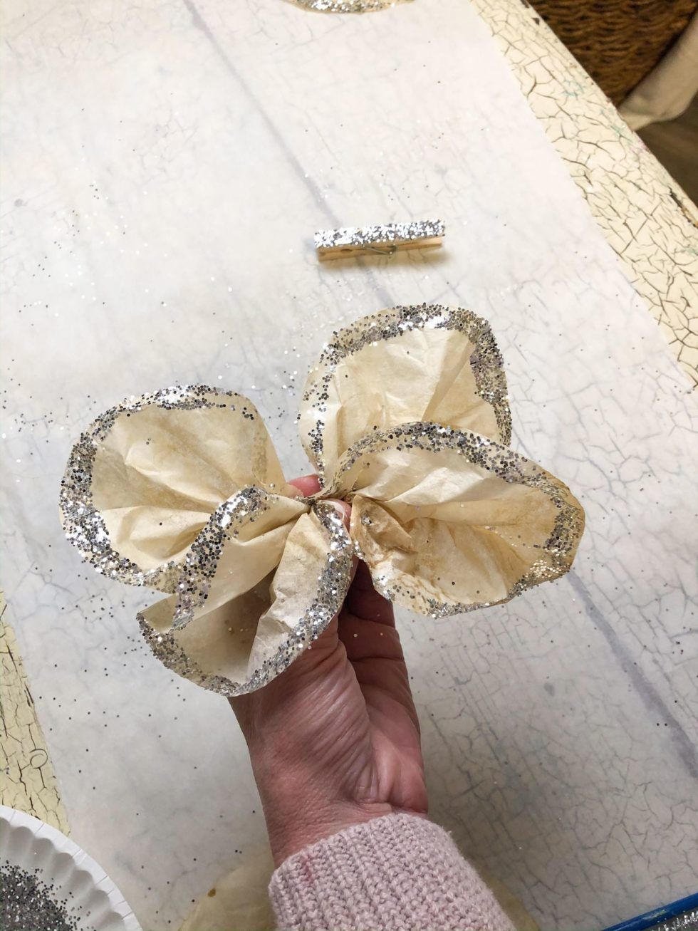 DIY Coffee Filter Butterfly   The Shabby Tree   Coffee filter ...