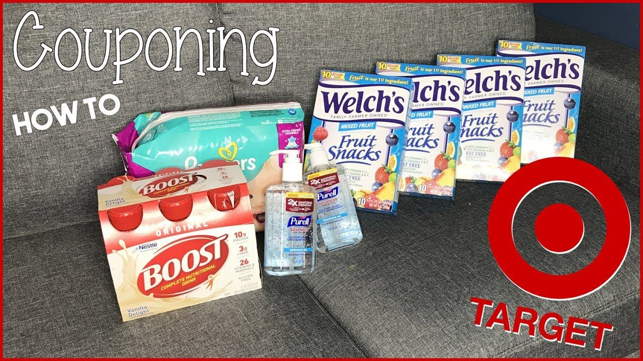Target Couponing Deals This Week u How to get them Easy Peasy