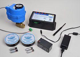 Leak Detection Alarm + Automatic Water Main Shut-Off System