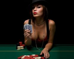 Adult poker party