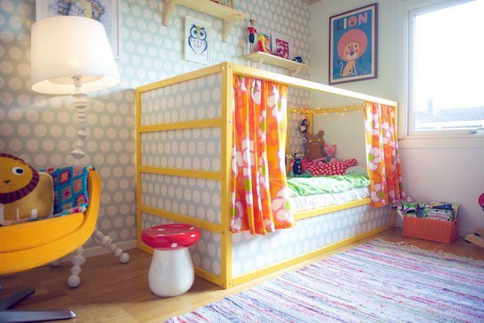 Diy Lit Enfant Ikea Kura Kaylies Room Pinterest Room Ikea