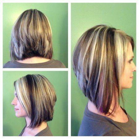 Fantastic Nice Long Swing Bob Haircuts Pictures Stacked Bob Haircuts Short Hairstyles Gunalazisus
