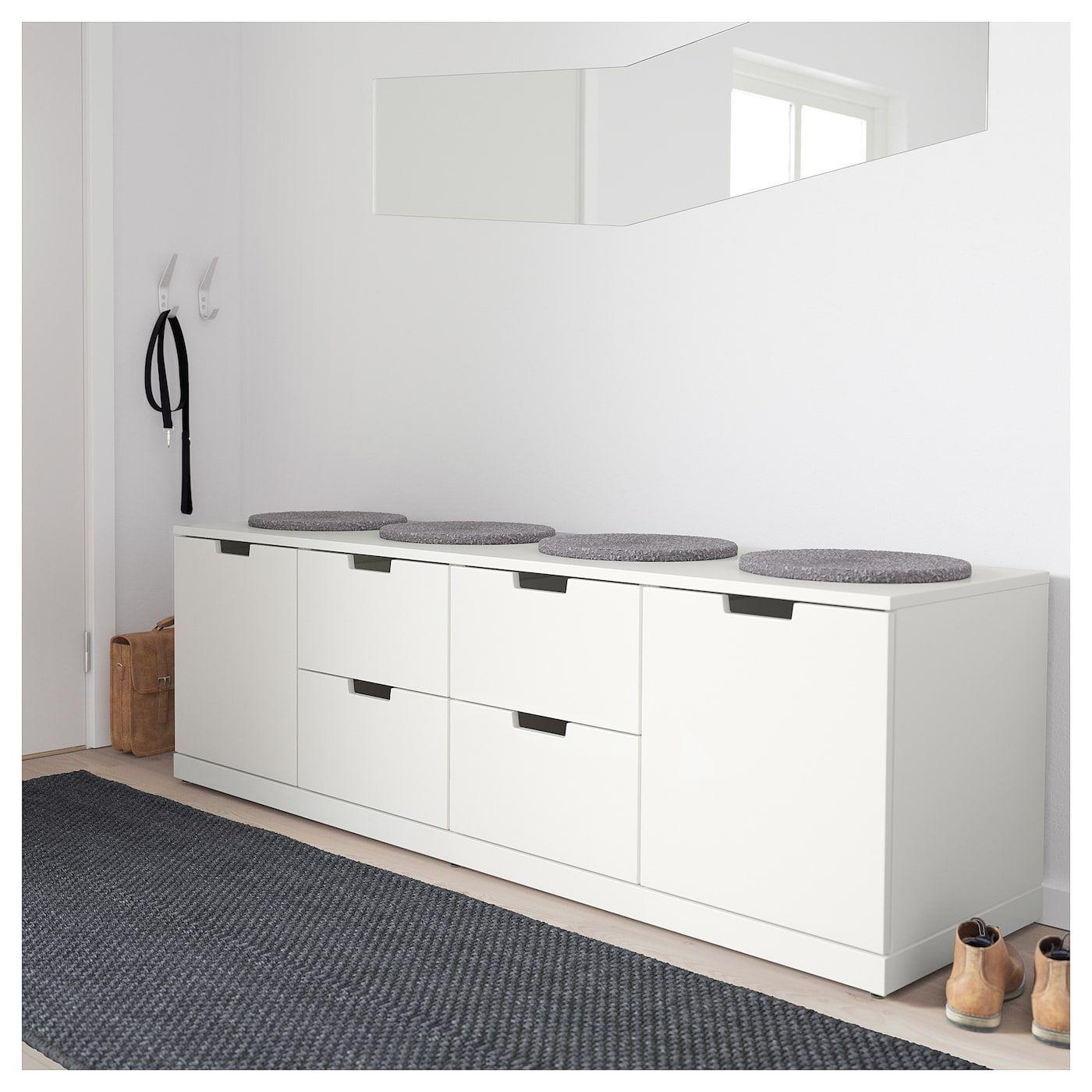 Ikea Nordli Kommode 4 Schubladen