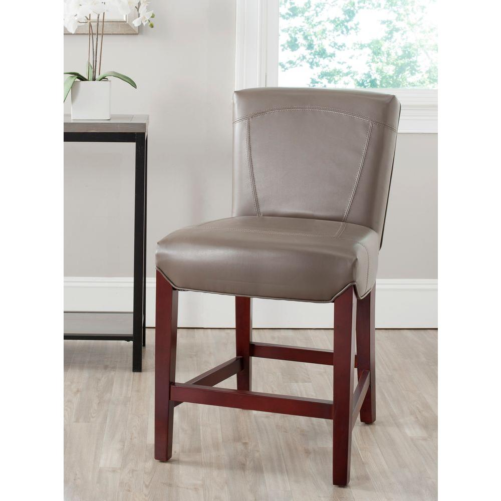 Sensational Safavieh Ken 23 8 In Clay Cushioned Bar Stool Clay Cherry Bralicious Painted Fabric Chair Ideas Braliciousco