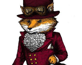 VICTORIAN DRAW FOX - Buscar con Google