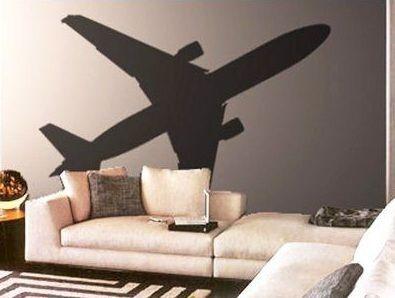 Fantasy Deco Vinilos Decorativos Aviones Decoración De Aviación Paredes Con Dibujos Decoraciones De Viaje