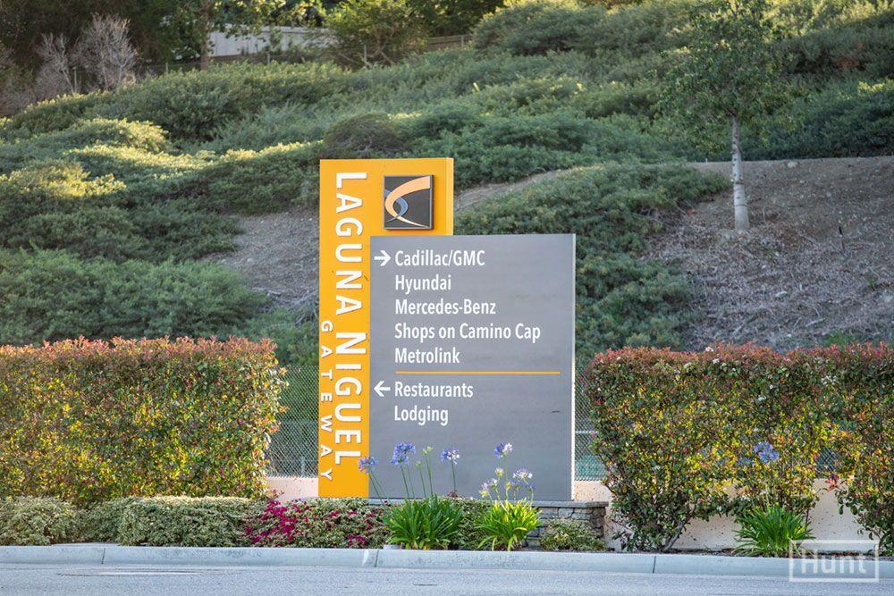 Monument Design Laguna Niguel Gateway Monument Signage