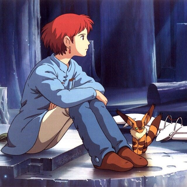 Nausicaä do Vale do Vento ✨ Studio Ghibli ✨ ilustrador - Hayao Miyazaki.