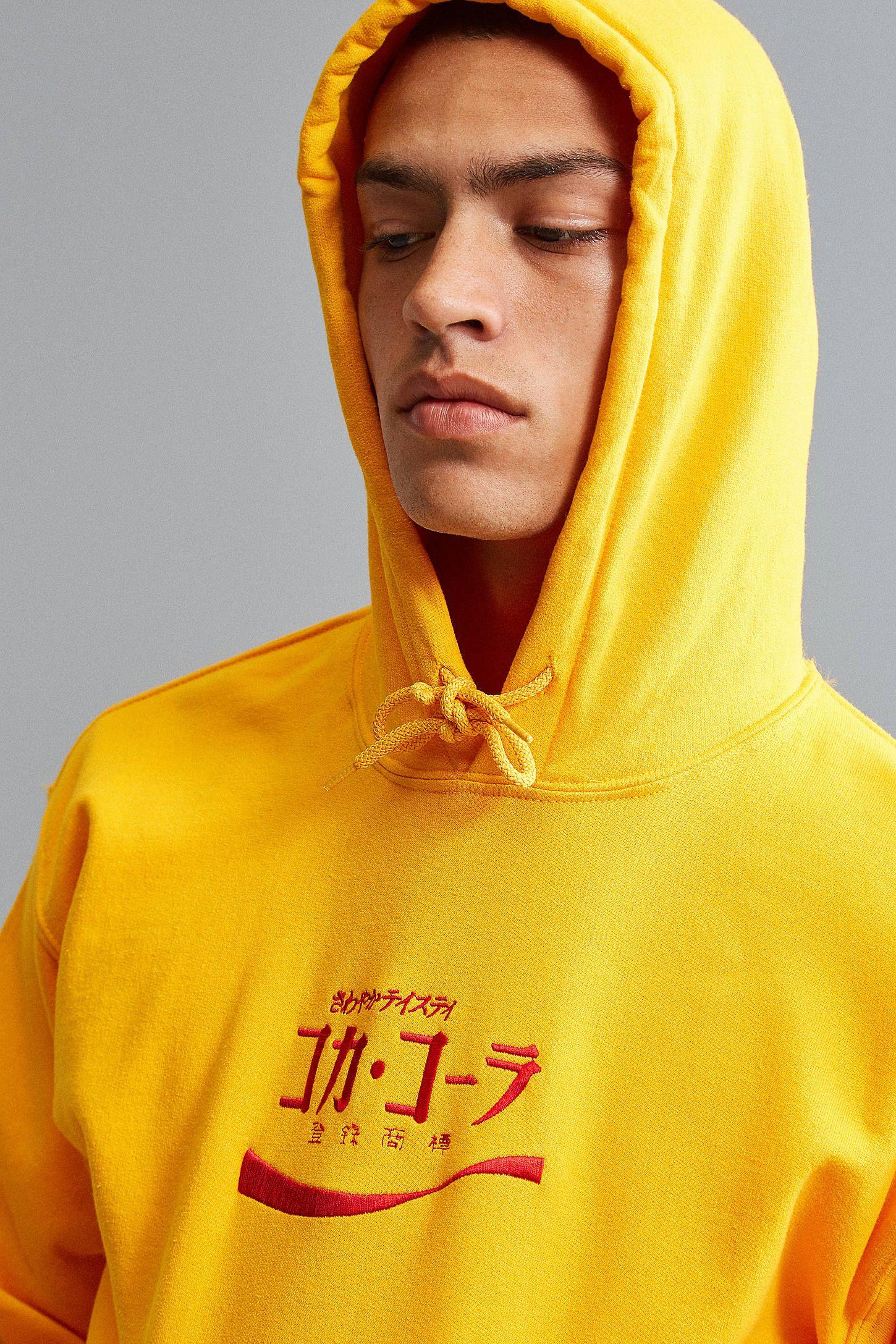 498c1e8ac97 Coca-Cola Embroidered Hoodie Sweatshirt | lust list; | Sweatshirts ...