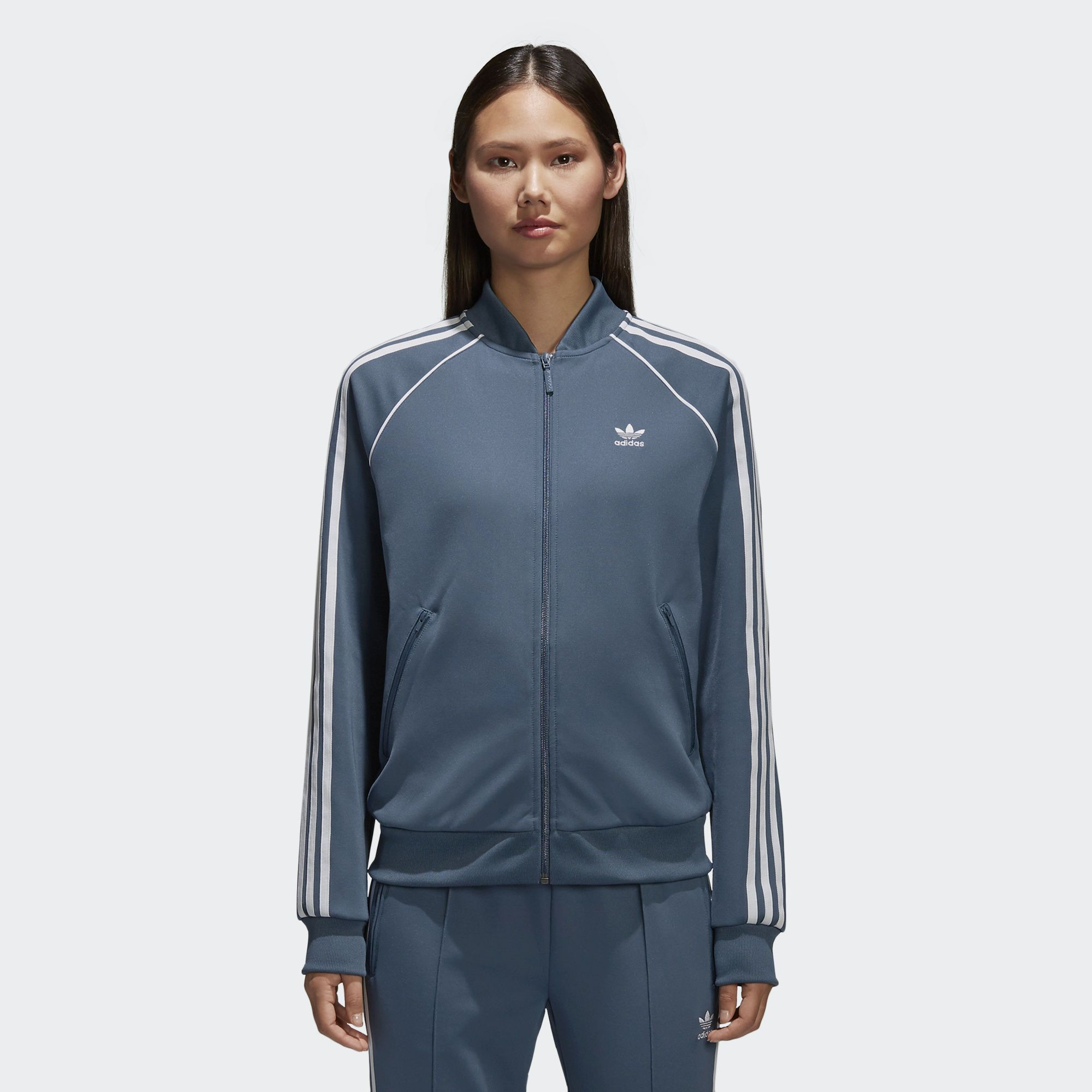 adidas Women's Adidas Originals X Danielle Cathari Cropped Denim Jacket from NORDSTROM | ShapeShop