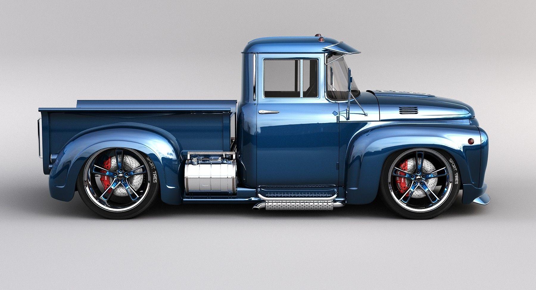 Custom Pickup Trucks >> Custom Stance 3d Max Trucks Custom Trucks Ford Trucks Pickup
