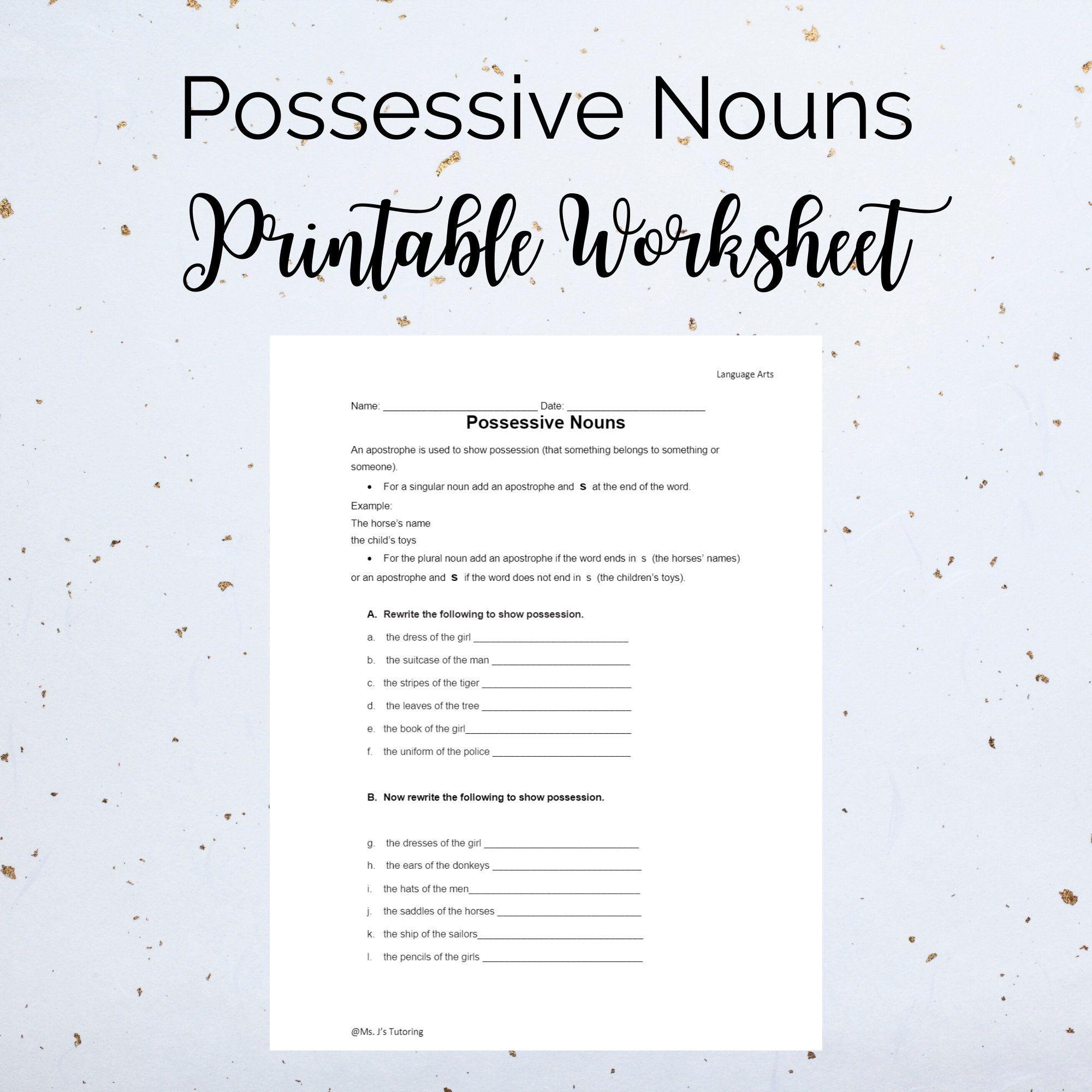 Nouns Worksheets And Printouts Proper Nouns Worksheet Nouns Worksheet Common And Proper Nouns