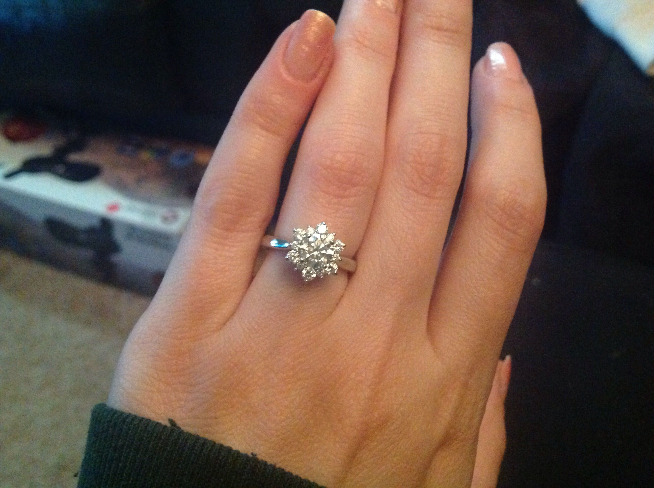 Ering of my dreams!!! Lets see your halo rings with