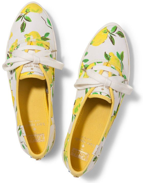 b776f0351a23  Limited Edition  Keds for Kate Spade Yellow Lemon Pointer Sneakers Shoes   katespade  FashionSneakers