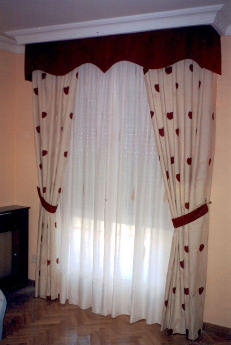 Cortinas bando   Imagui | cortinas | Pinterest | Cornice