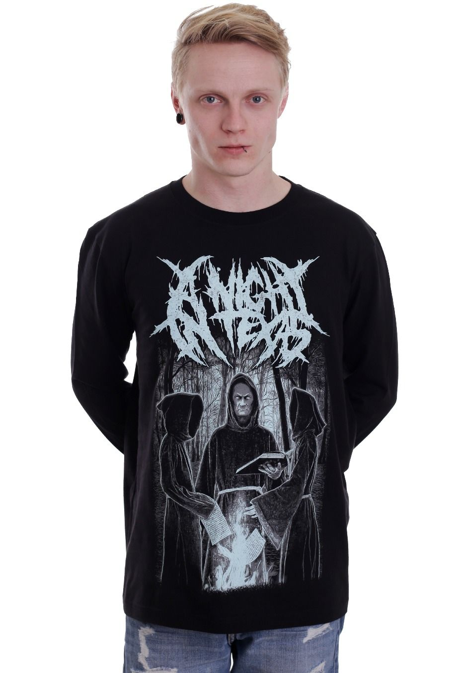 22155acd A Night In Texas - I Godless - Longsleeve - A Night In Texas - Official  Merch Store - Impericon.com UK