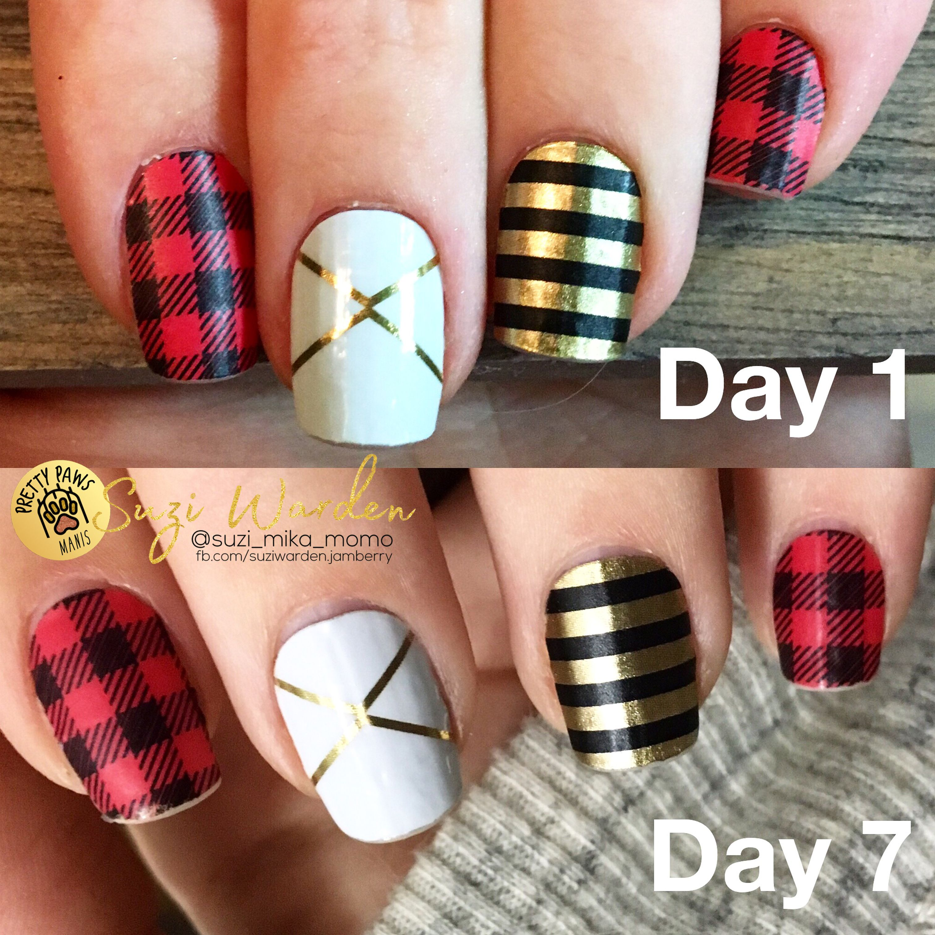 non-chip nails, even past 7 days! learn more at prettypurfect.com ...