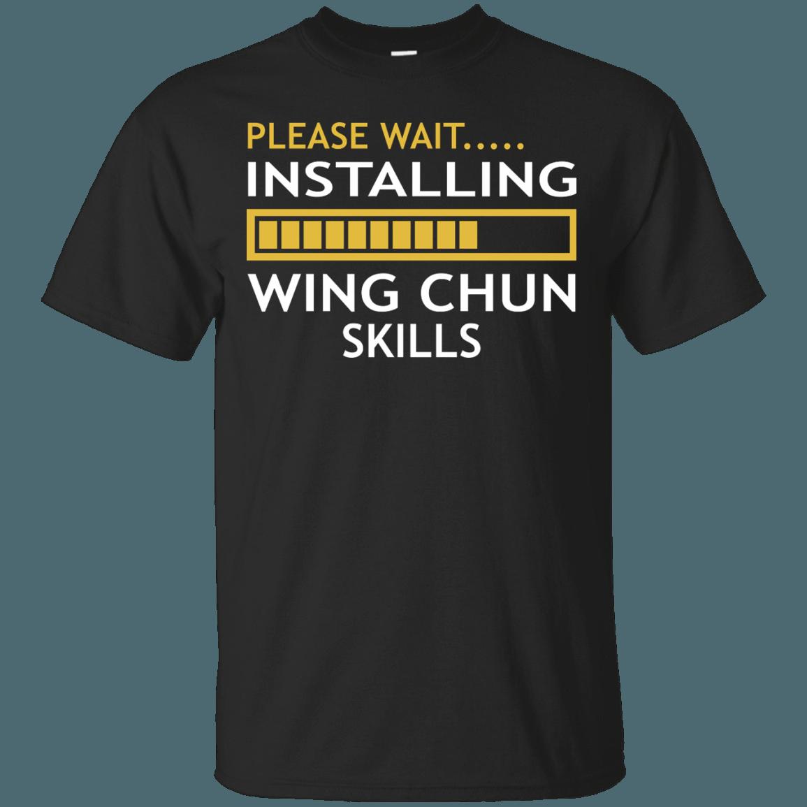 Installing Wing Chun Skills T shirt, Farter, Cool t shirts