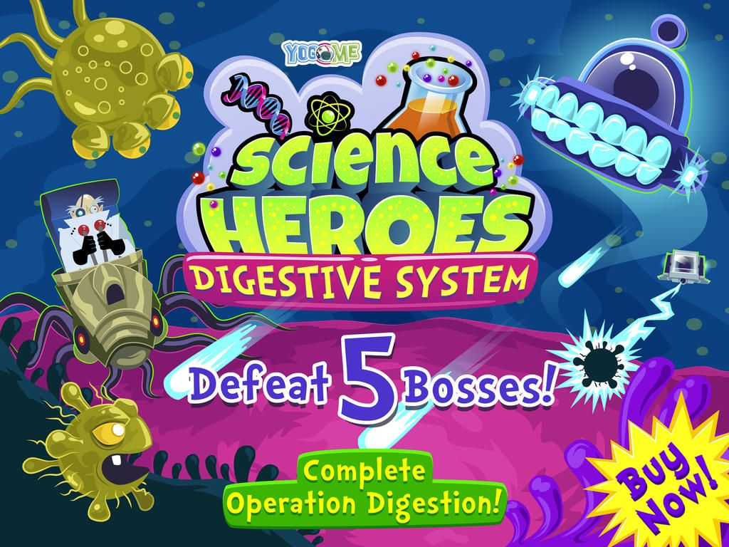Science Heroes Digestive System For Kids