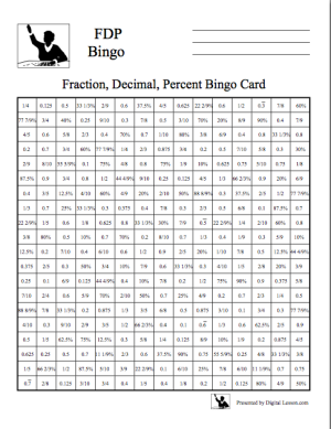 photo about Middle School Math Games Printable known as Center College Math Online games Freebies Portion, Decimals, and