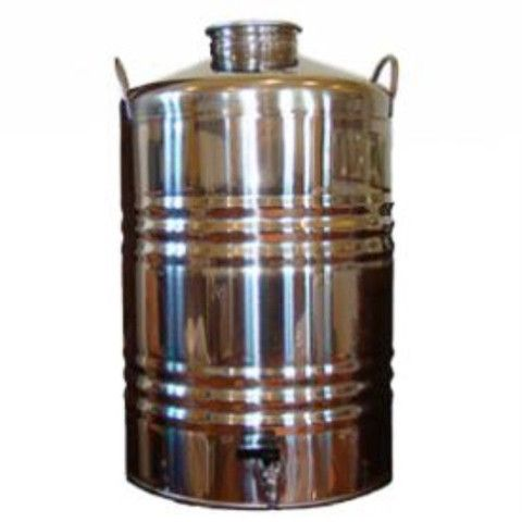Superfustinox Stainless Steel Water Dispenser Fusti 50 Liter 13 2 Gal Water Dispenser Steel Water Water Gift