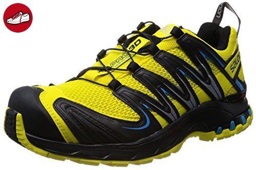 Salomon Xa Pro 3D, Herren Sneakers, Gelb Schwarz, 42 EU