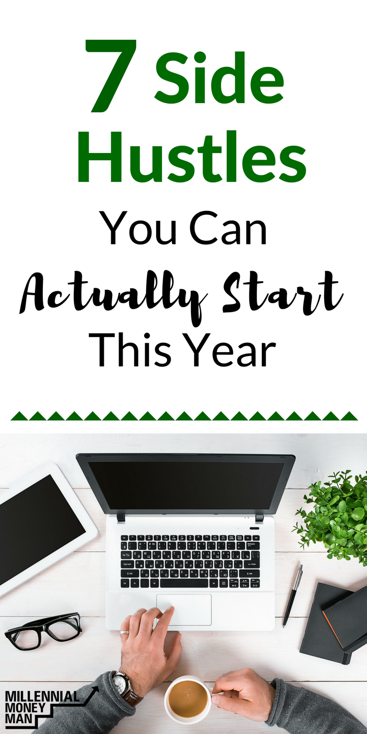 7 Side Hustles You Can Actually Start in 2018