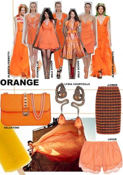How To Wear- Orange. Words by Rosie Feenstra. www.kit-magazine.com