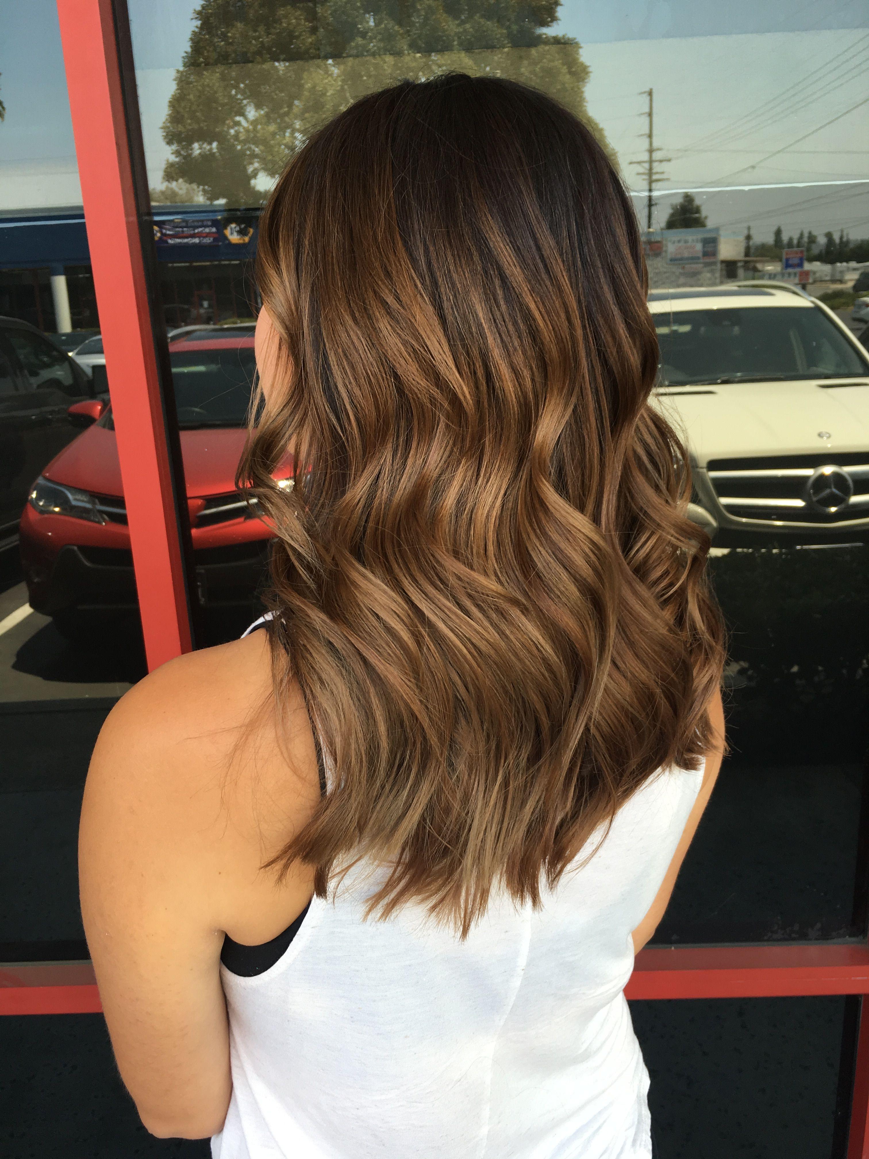 balayage hair ombr233 balayage highlights dark brown hair