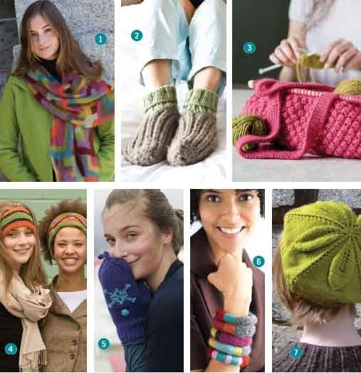 Knitted Accessories 7 Free Patterns You Have To Knit Arts Crafts