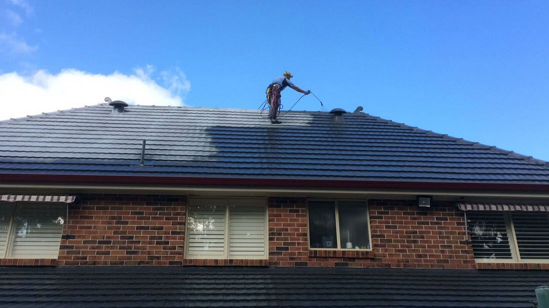 Top View Roofing Will Inspect Your Roof Making Any Repairs If Required Before Roofpainting With Mortar Capping Roof Restoration Roof Paint Roofing Services