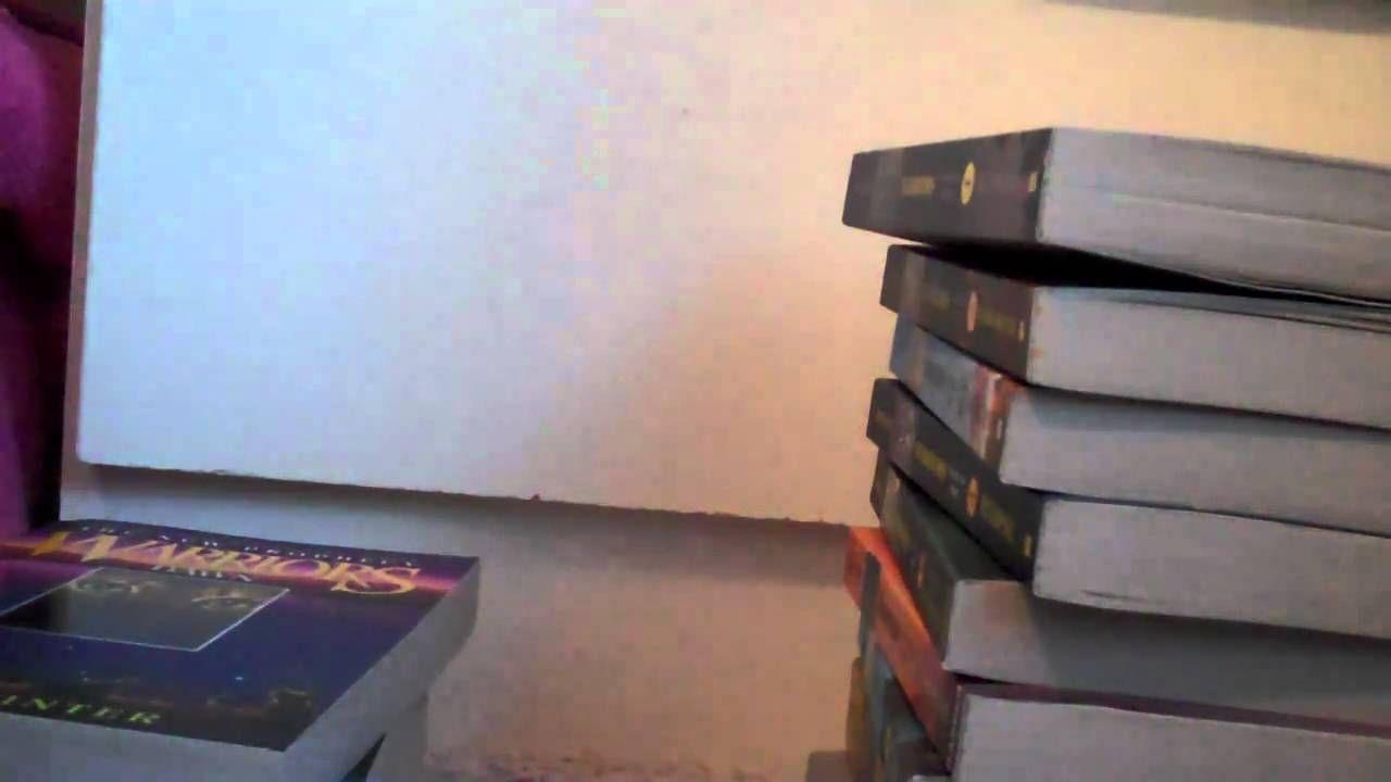 My Warriors book collection so far! :D