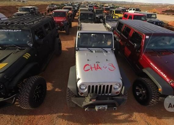Jay Leno Rides High In Fab Fours Legend Jeep Wrangler Jeep Jeep Tj