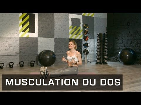Fitness Master Class - Musculation du Dos - Lucile Woodward - YouTube