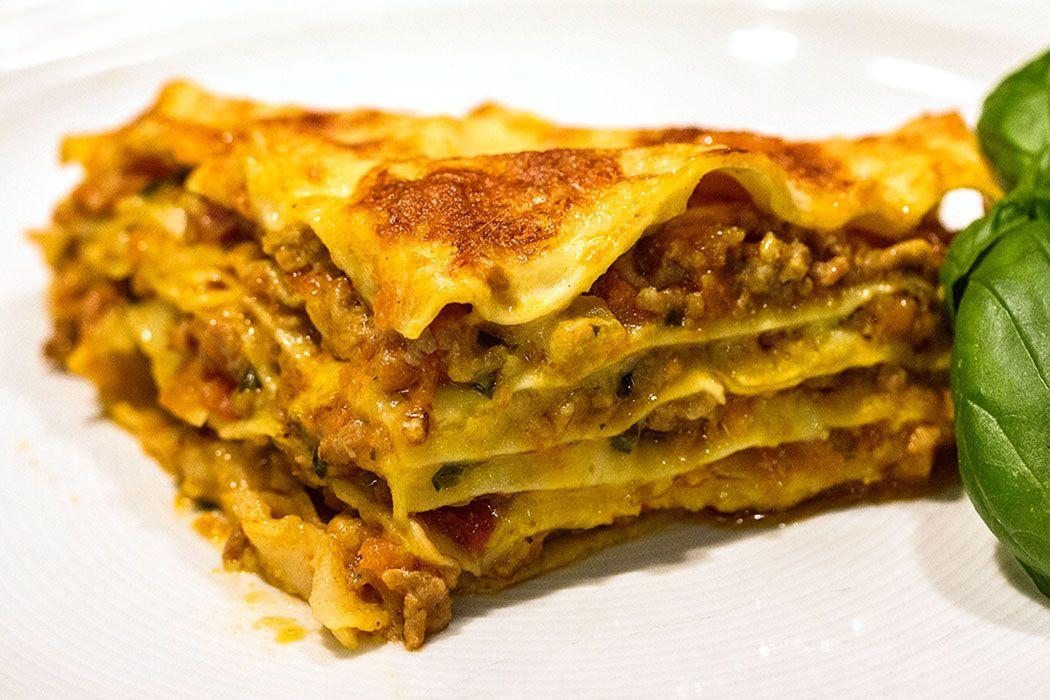 lasagne alla bolognese – heißgeliebter italienischer