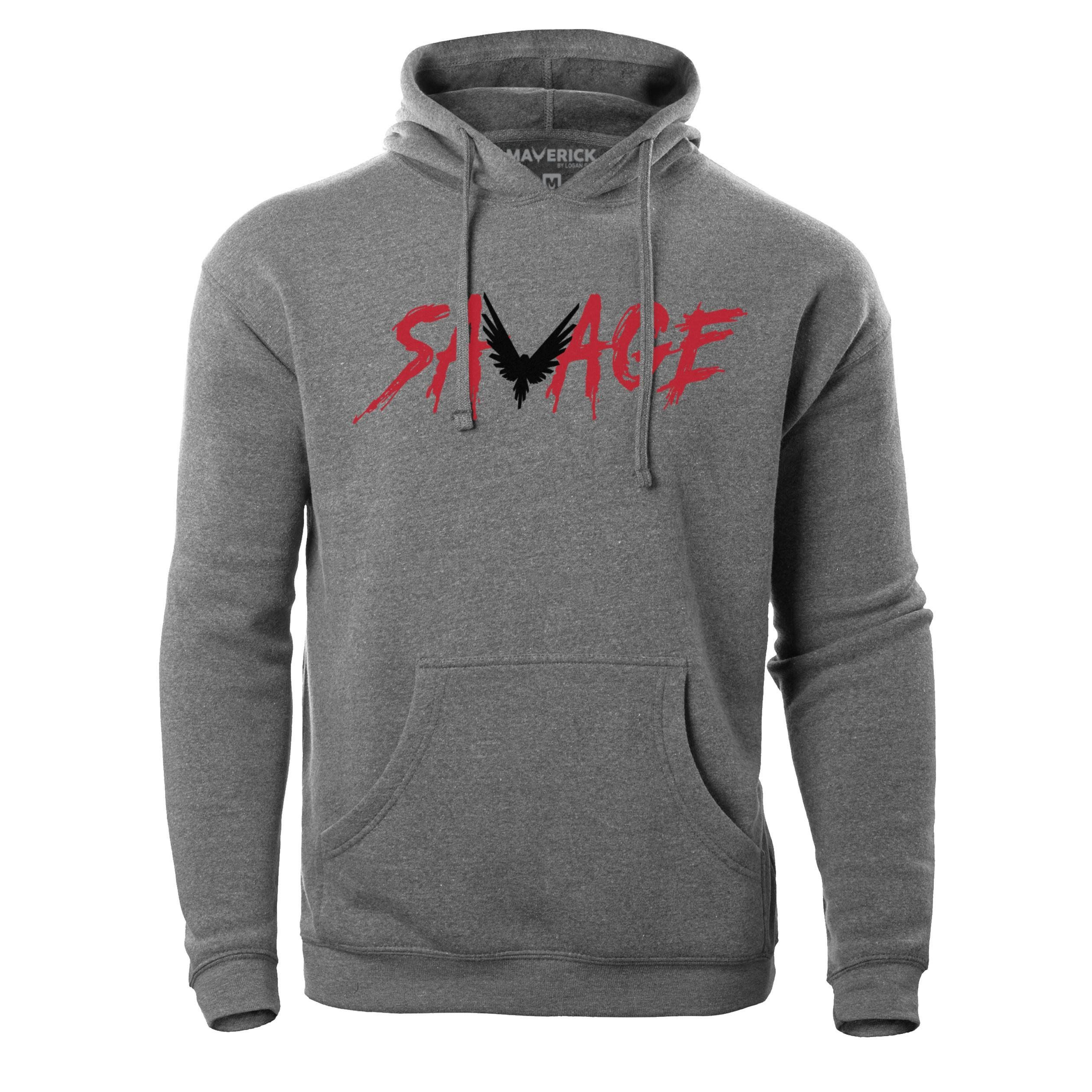 f3a56f8eb5 Savage Hoodie | Xmas | Hoodies, Logan paul merch, Logan paul