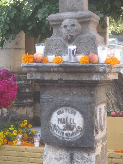 "Pantheon General - even the ""forgotten ones"" are remembered on Day of the Dead. www.johnkachuba.com"