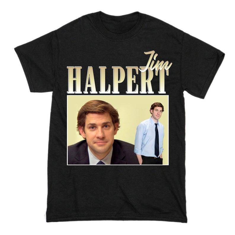 Vintage Retro T-Shirt Where is My Jim Halpert-