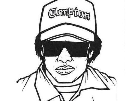 Gangsta Rap Coloring Pages Kids Coloring Books Words Coloring Book Swear Word Coloring Book