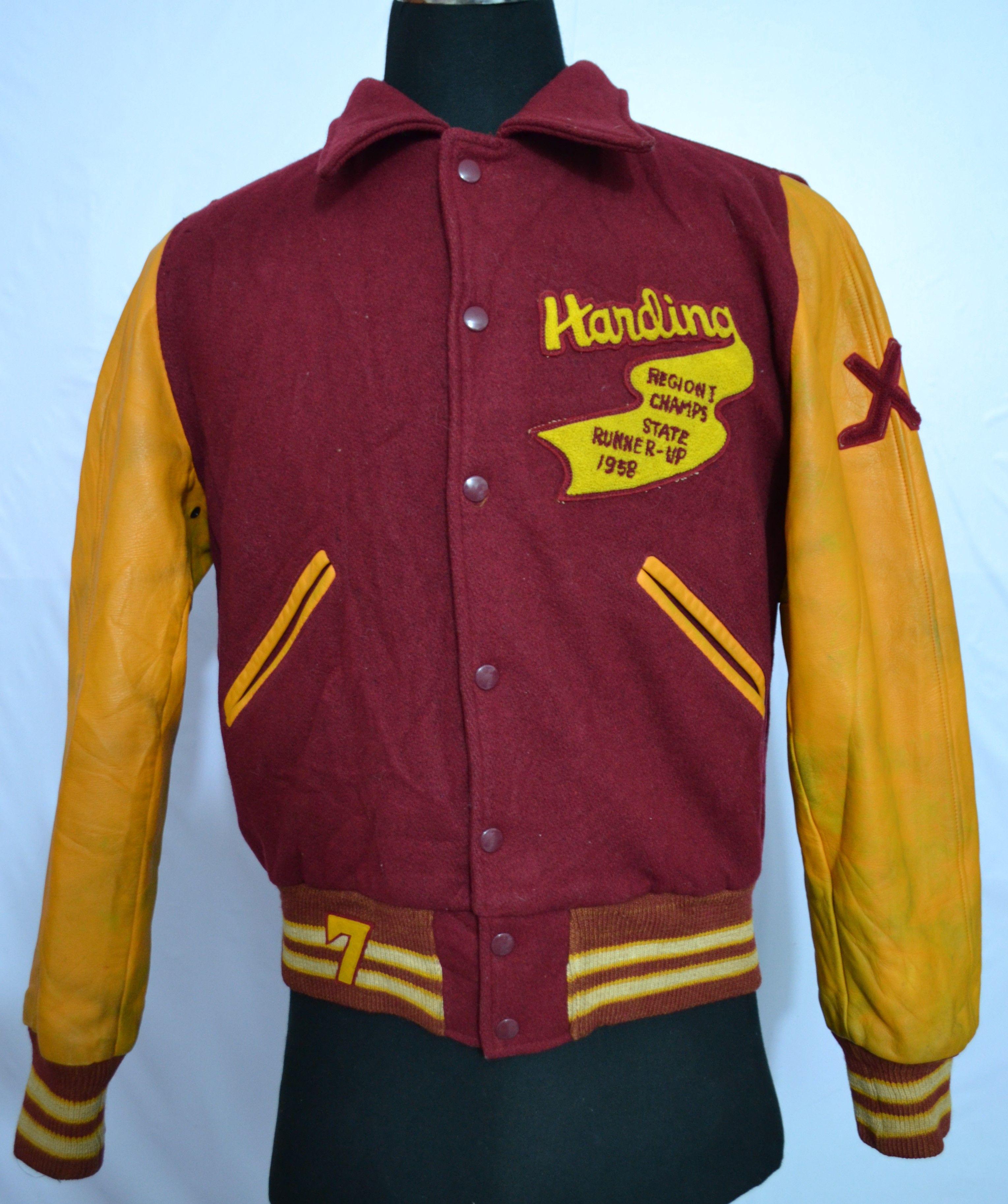 Varsity Leather Jackets top brands labels (Vintage Brands