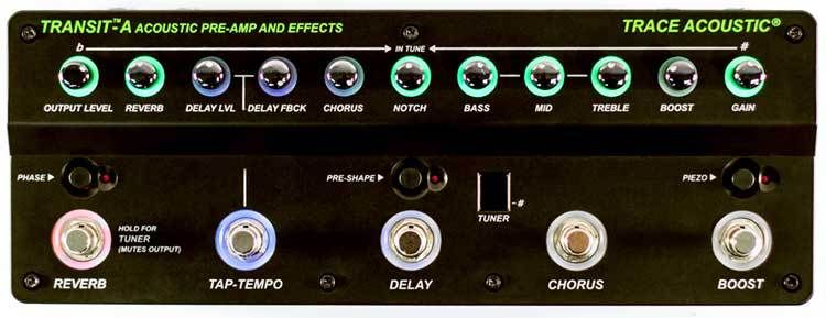 Gear Review Trace Elliot S Transit A Preamp And Effects Unit Is Tailored Specifically For The Acoustic Guitarist Acoustic Guitar Acoustic Guitar