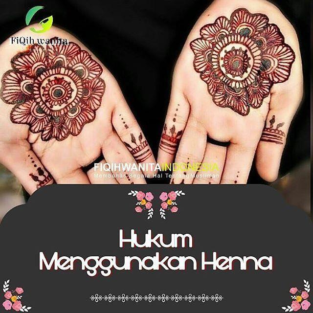 Apakah Tato Itu Haram Apapun Motifnya Jika Motif Bunga Dgn Henna Di