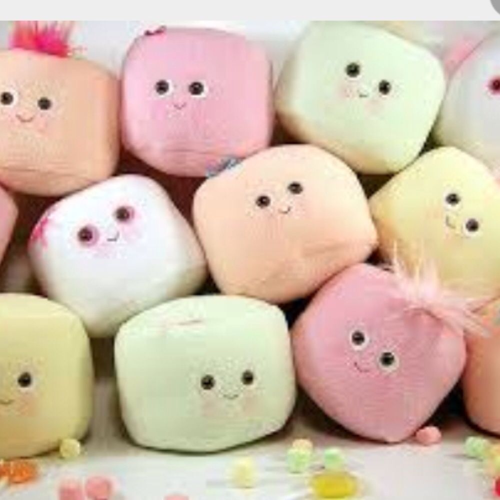 Cute marshmallow face pillows So tumblr so cute Pinterest