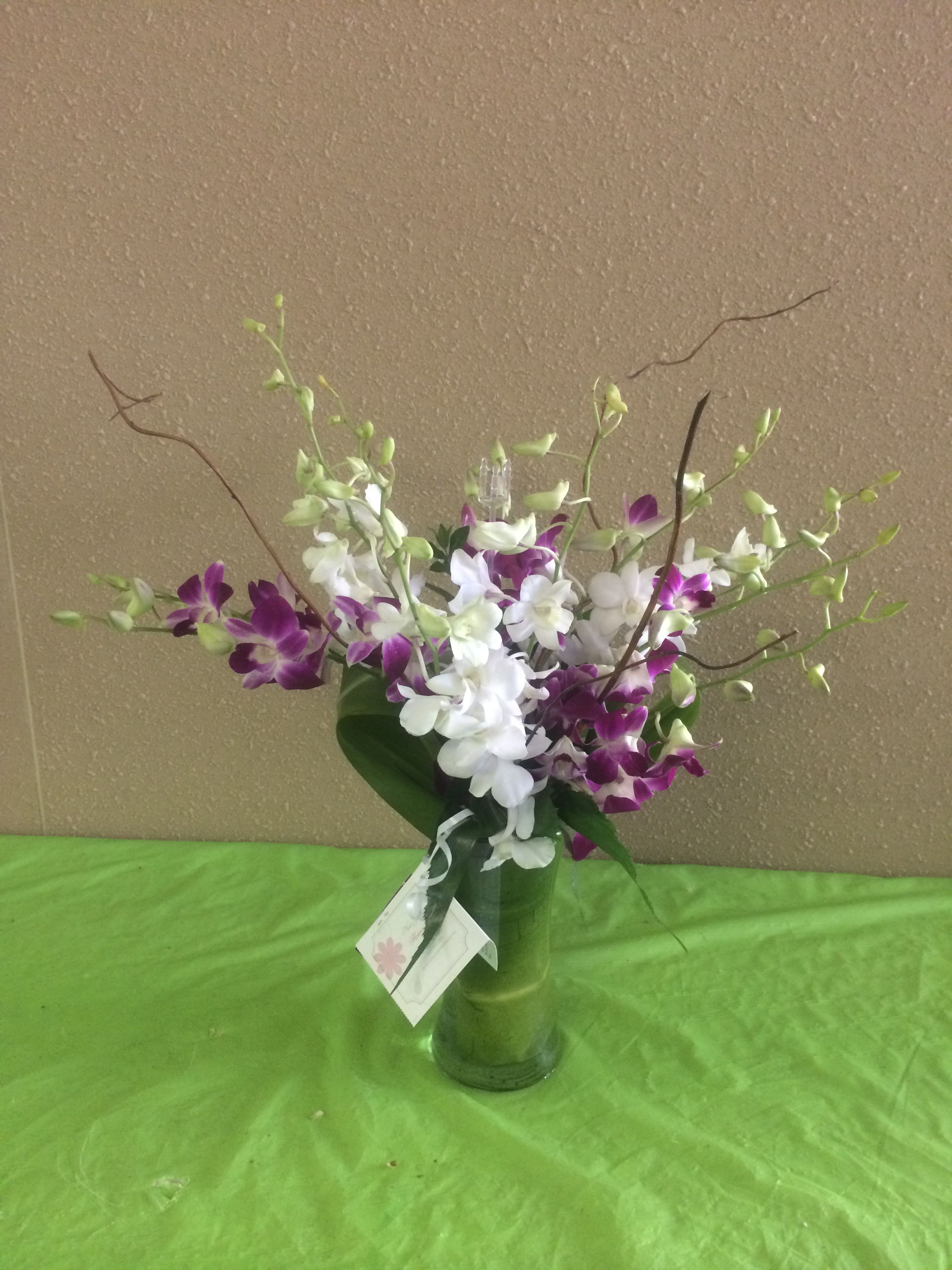 Orchid mixed flower arrangements pinterest flower arrangements