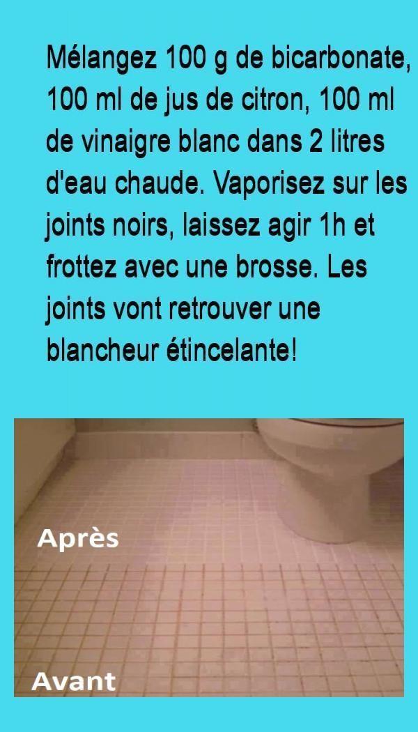 Comment Nettoyer Vos Joints Et Vos Carrelages De Maniere Naturelle Nettoyage Joint De Carrelage Comment Nettoyer Nettoyage Carrelage