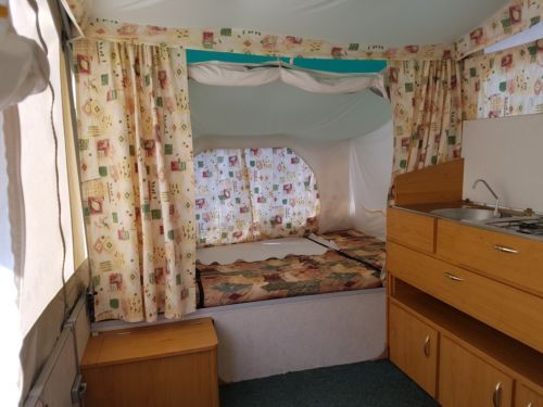 Pennine-Aztec-2001-Folding-Camper-with-Awning-Great ...