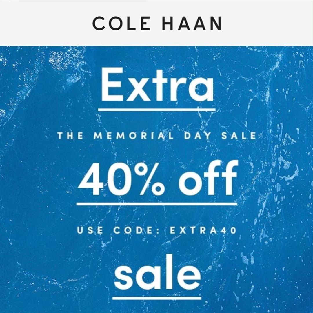 cole haan memorial day sale